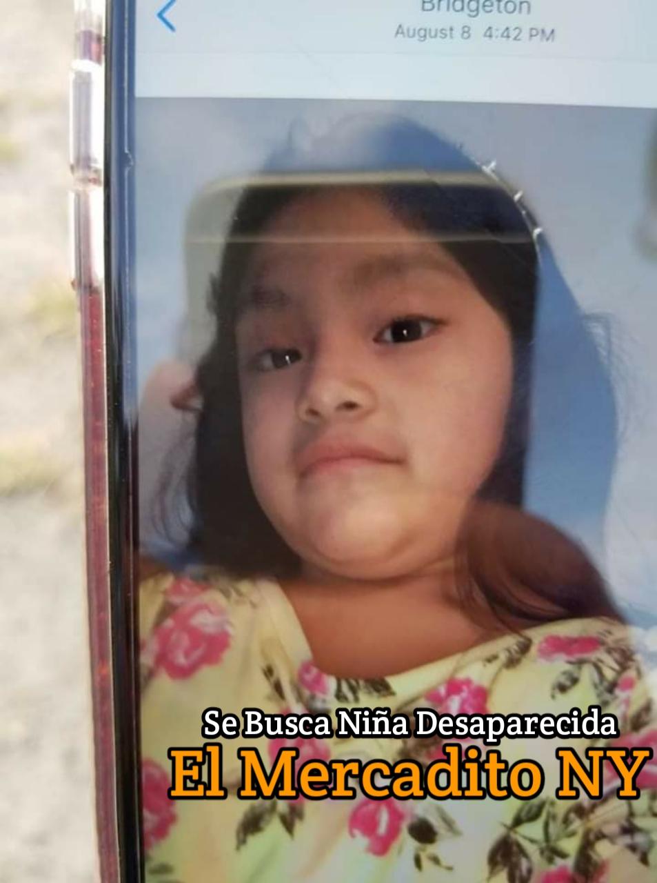 Ayuda a Encontrar Niñita Desaparecida 20190916