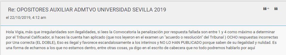 OPOSITORES AUXILIAR ADMTVO UNIVERSIDAD SEVILLA 2019 Captur12