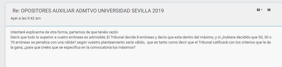 OPOSITORES AUXILIAR ADMTVO UNIVERSIDAD SEVILLA 2019 Captur14