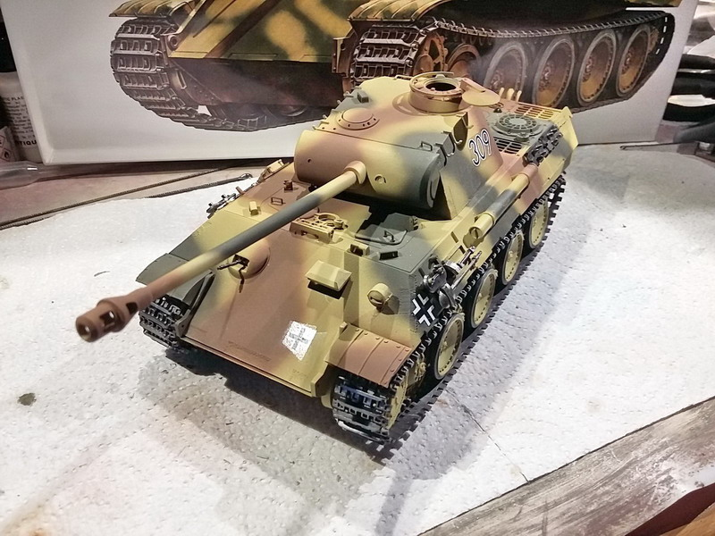 King Tiger (tourelle Porsche, full interior) [Takom 1/35 ] - Page 7 20191139