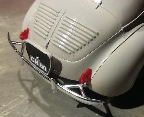 4 CV Renault 1/24ème Heller : un amour de 4cv 20191225