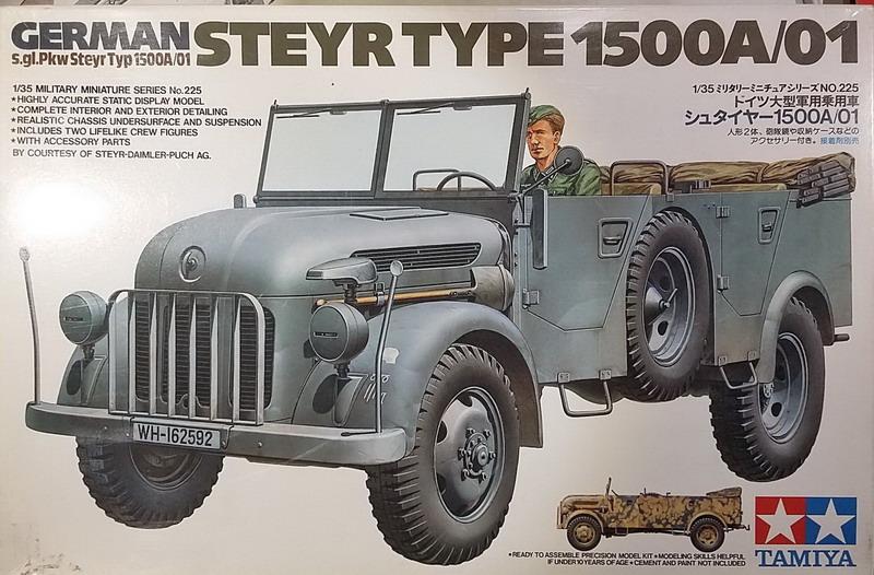 Camion STEYR type 1500A/01  [Tamiya 1/35] 20200104