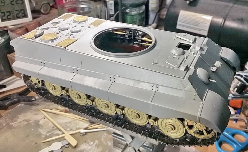 King Tiger (tourelle Porsche, full interior) [Takom 1/35 ] - Page 5 20200182