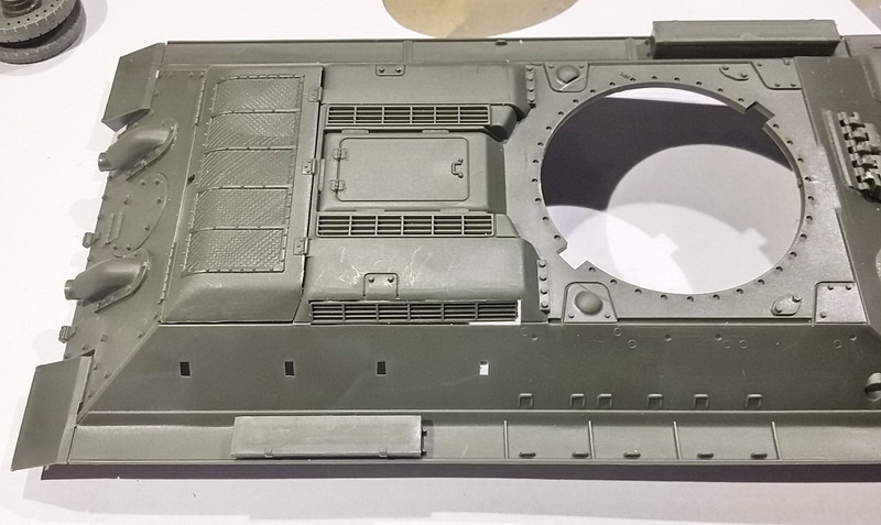T34/76 au 1/35ème de Tamiya 20200261