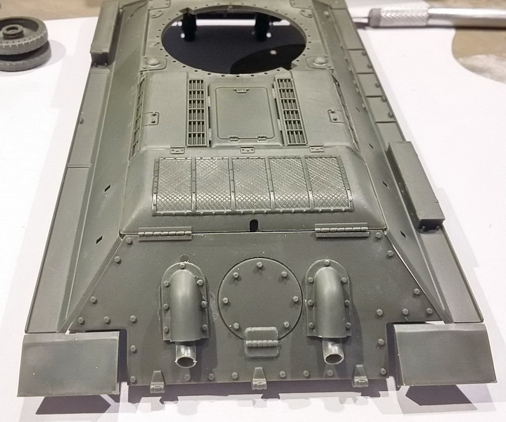 T34/76 au 1/35ème de Tamiya 20200262