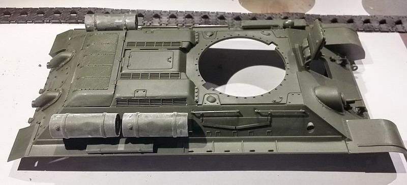 T34/76 au 1/35ème de Tamiya 20200265