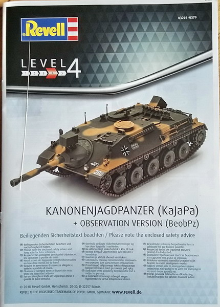 KanonenJagdPanzer (KaJaPa) 1/35 Revell 20200275