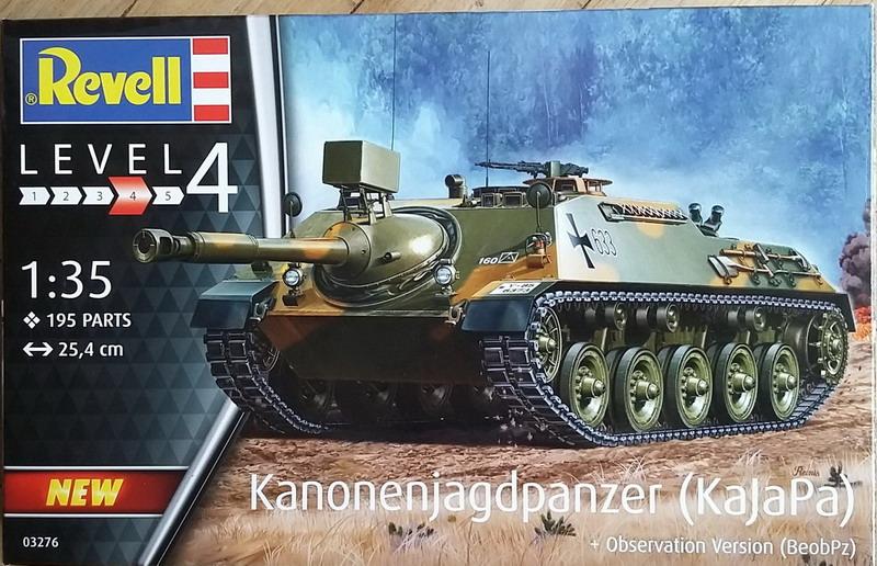 KanonenJagdPanzer (KaJaPa) 1/35 Revell 20200276