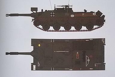 KanonenJagdPanzer (KaJaPa) 1/35 Revell 20200281