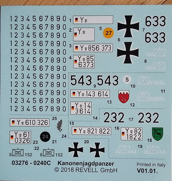 KanonenJagdPanzer (KaJaPa) 1/35 Revell 20200289