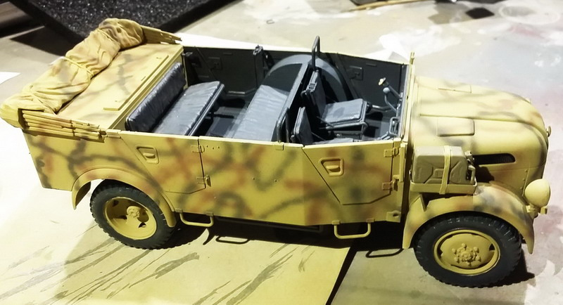 Camion STEYR type 1500A/01  [Tamiya 1/35] 20200310