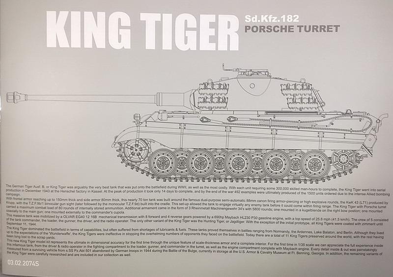 King Tiger (tourelle Porsche, full interior) [Takom 1/35 ] 20200325