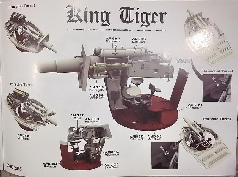 King Tiger (tourelle Porsche, full interior) [Takom 1/35 ] 20200329