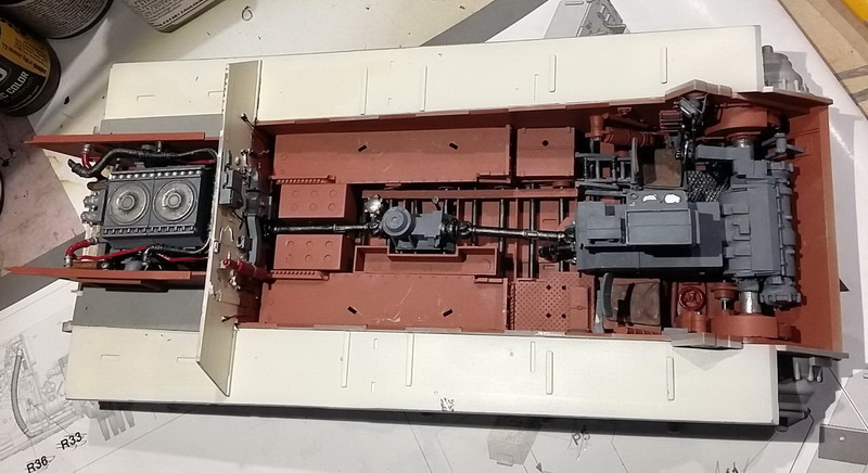 King Tiger (tourelle Porsche, full interior) [Takom 1/35 ] - Page 3 20200377
