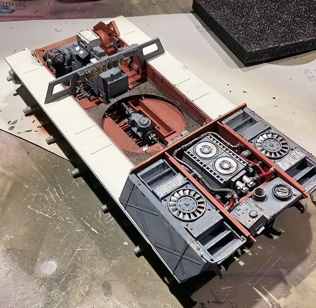 King Tiger (tourelle Porsche, full interior) [Takom 1/35 ] - Page 3 20200382