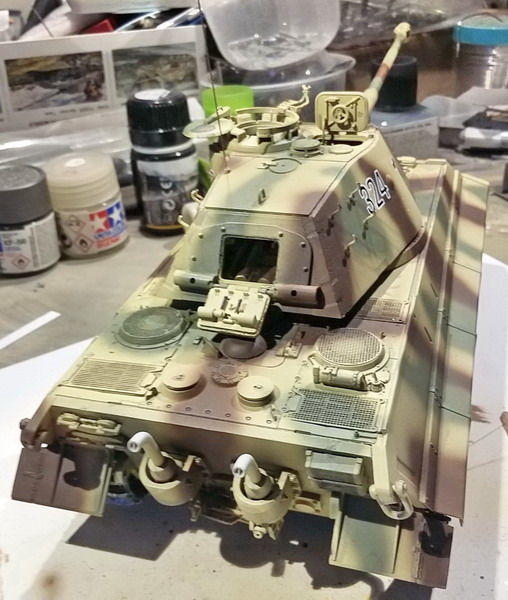 King Tiger (tourelle Porsche, full interior) [Takom 1/35 ] - Page 7 20200434