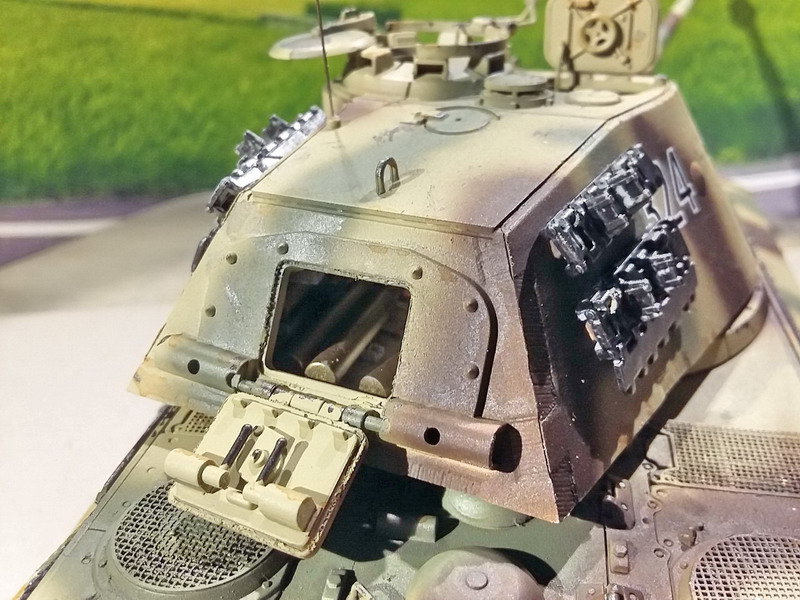 King Tiger (tourelle Porsche, full interior) [Takom 1/35 ] - Page 7 20200442