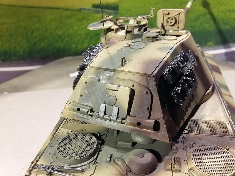 King Tiger (tourelle Porsche, full interior) [Takom 1/35 ] - Page 7 20200443