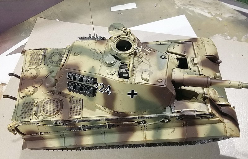 King Tiger (tourelle Porsche, full interior) [Takom 1/35 ] - Page 7 20200446