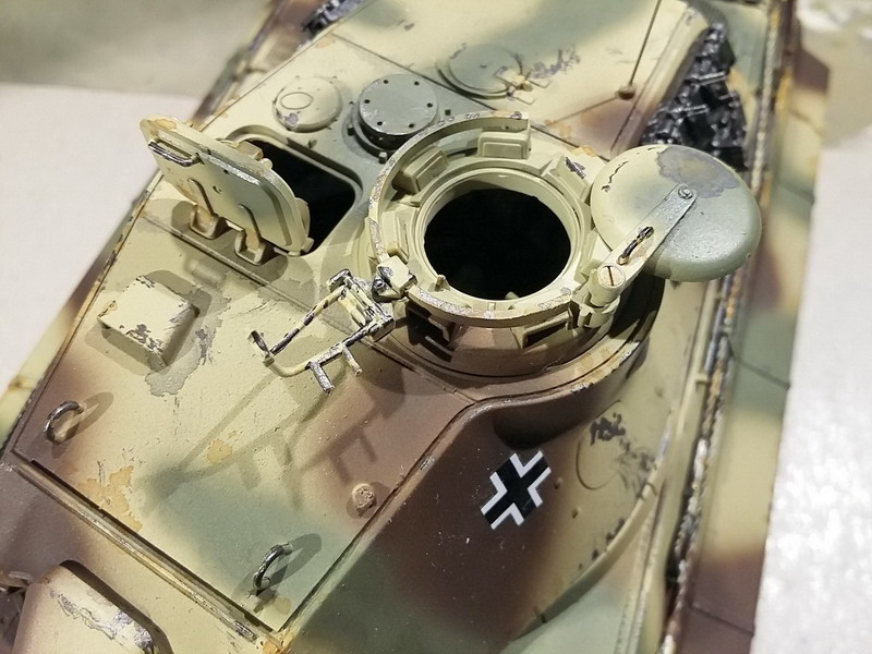 King Tiger (tourelle Porsche, full interior) [Takom 1/35 ] - Page 7 20200448
