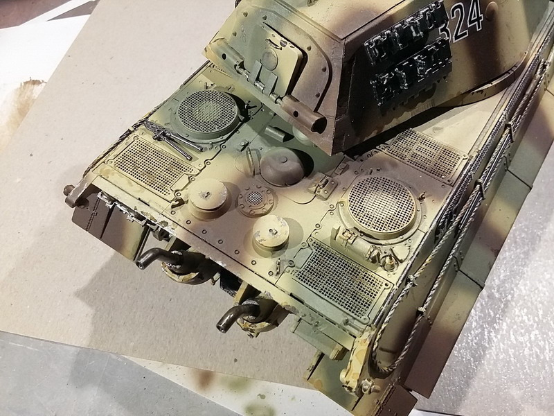 King Tiger (tourelle Porsche, full interior) [Takom 1/35 ] - Page 7 20200449