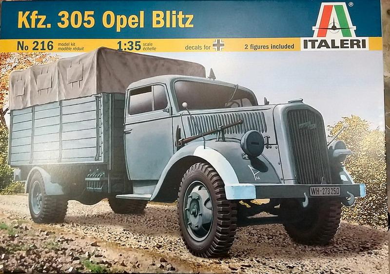 Opel Blitz 1/35ème [Italeri] 20200483