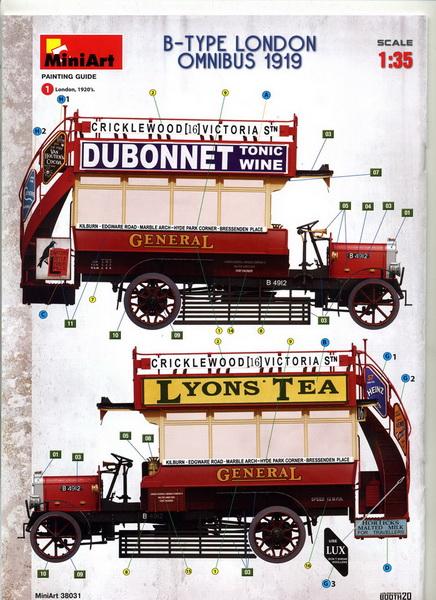 London Omnibus 1919 - 1/35 - MiniArt Img04410