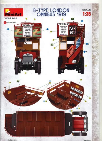 London Omnibus 1919 - 1/35 - MiniArt Img04510