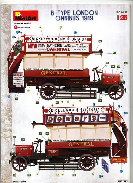 London Omnibus 1919 - 1/35 - MiniArt Img04710