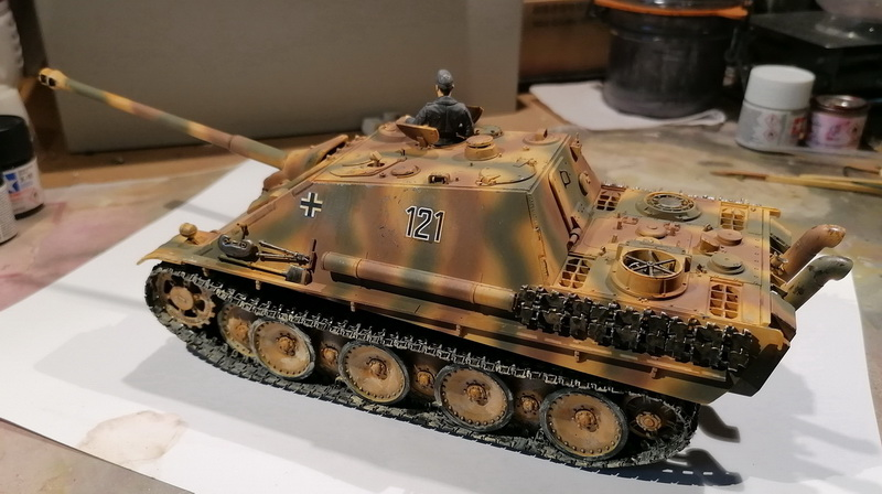 "Jagdpanther ""late version""  1/35ème [Tamiya] Img_2024"