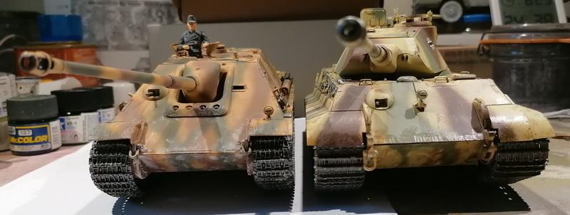 "Jagdpanther ""late version""  1/35ème [Tamiya] Img_2030"