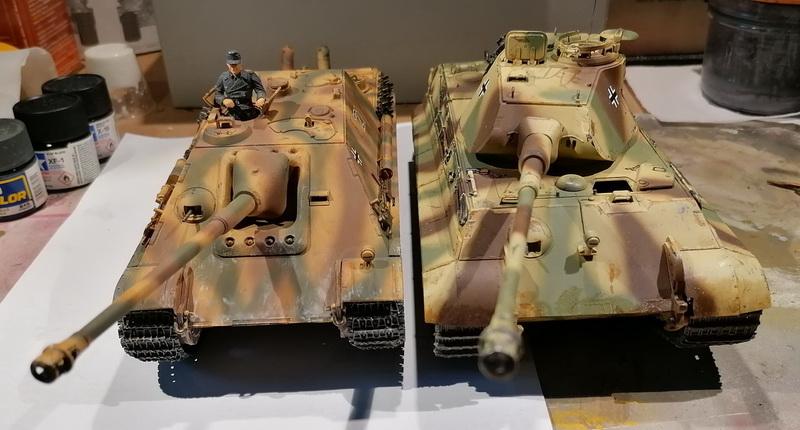 "Jagdpanther ""late version""  1/35ème [Tamiya] Img_2031"