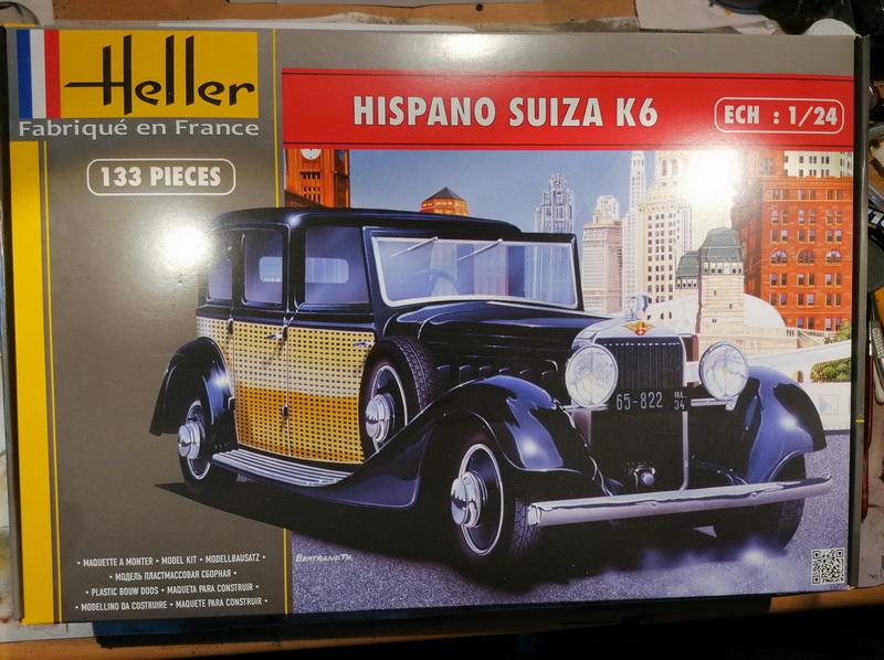 Hispano Suiza K6  - 1/24 - [Heller] Img_2047