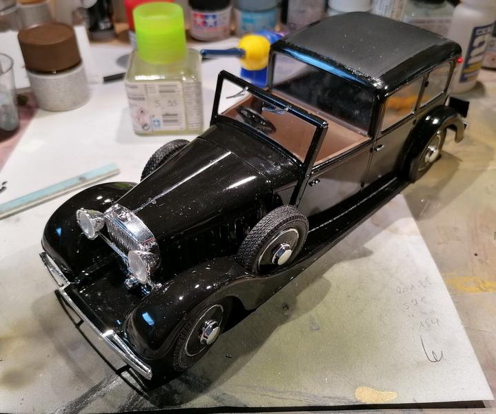 Hispano Suiza K6  - 1/24 - [Heller] Img_2060