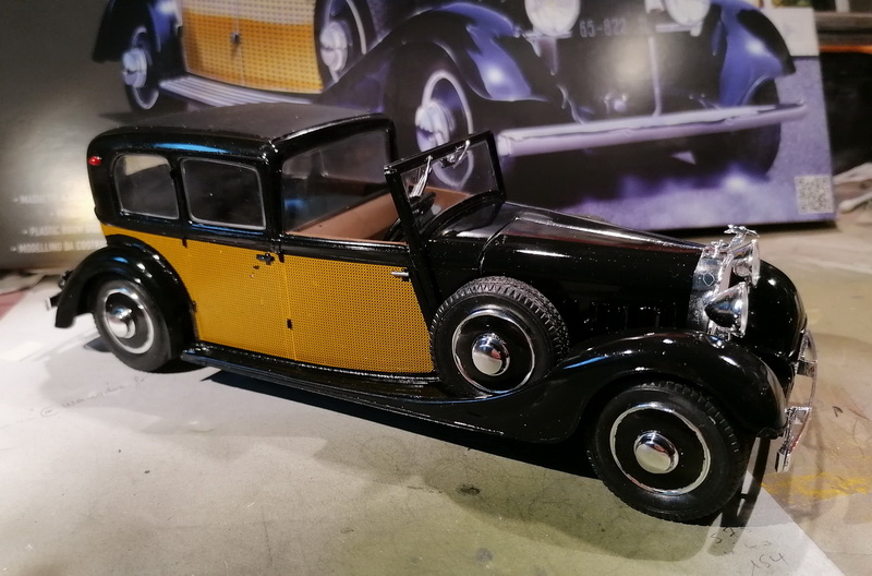 Hispano Suiza K6  - 1/24 - [Heller] Img_2062