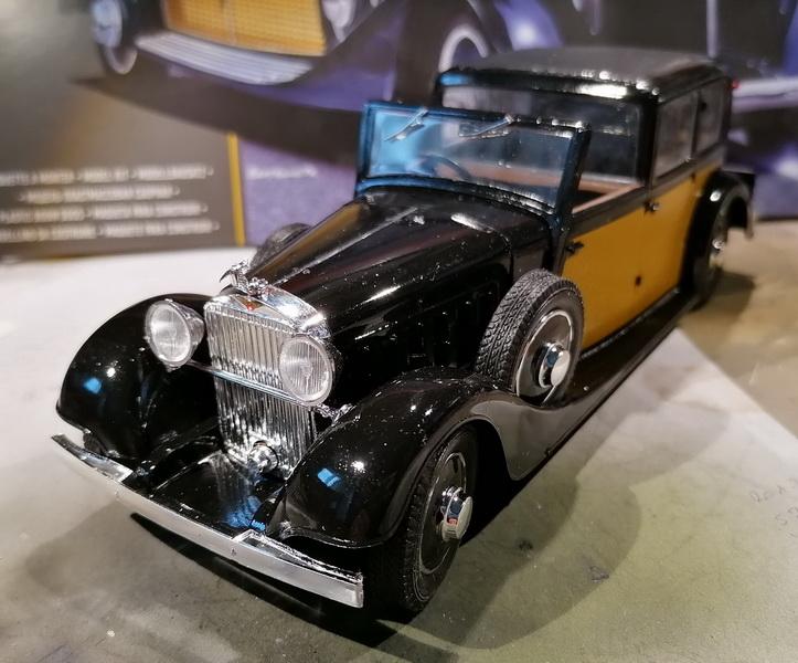 Hispano Suiza K6  - 1/24 - [Heller] Img_2063