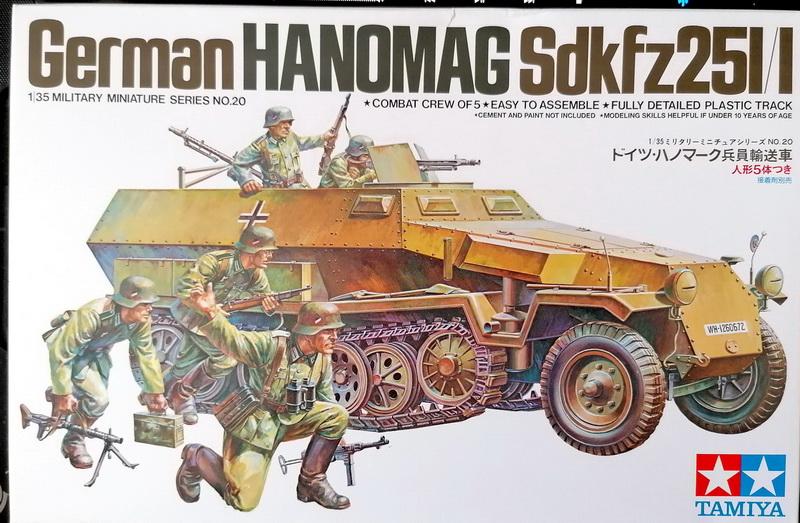 Hanomag Sd.Kfz. 251/1  - 1/35 - Tamiya Img_2091