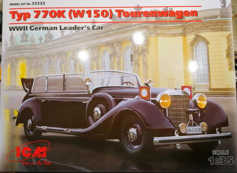 Tourenwagen Typ 770K  - 1/35ème  -  ICM Img_2118