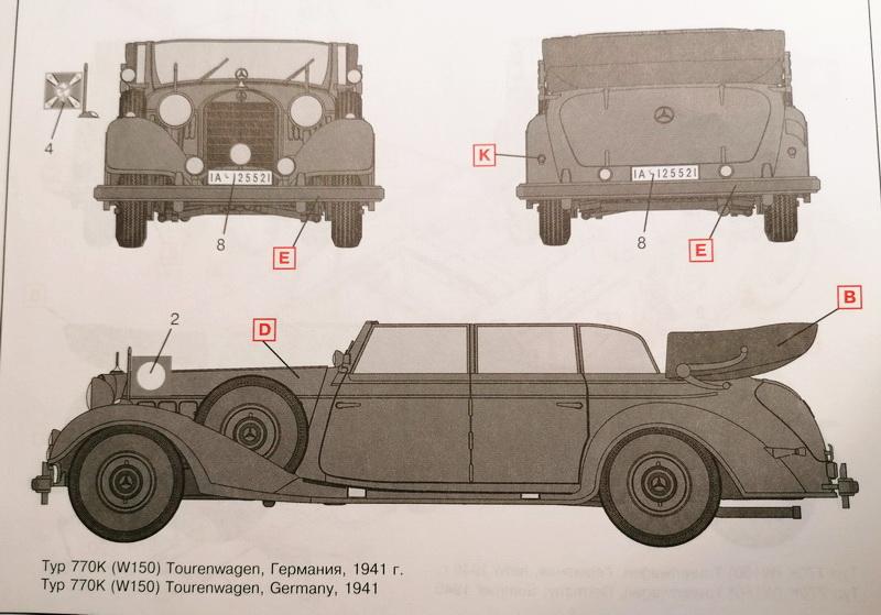 Tourenwagen Typ 770K  - 1/35ème  -  ICM Img_2124