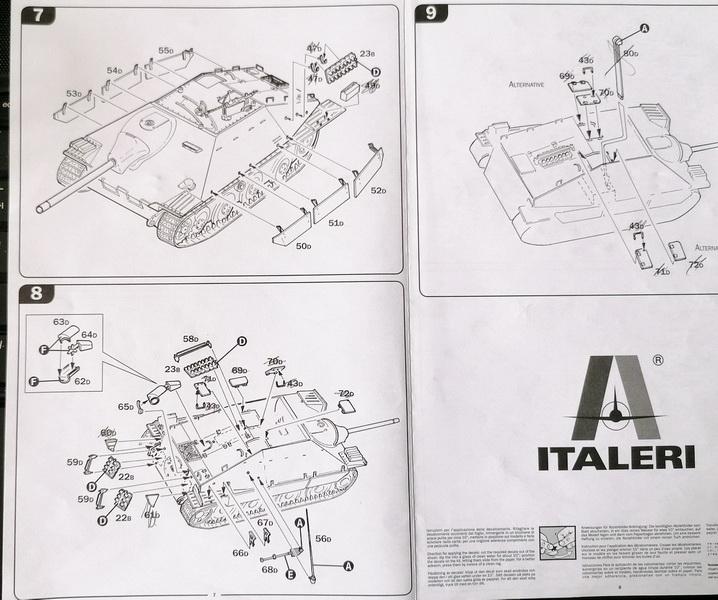 Jagdpanzer 38(t) Hetzer - 1/35 - Italeri Img_2155