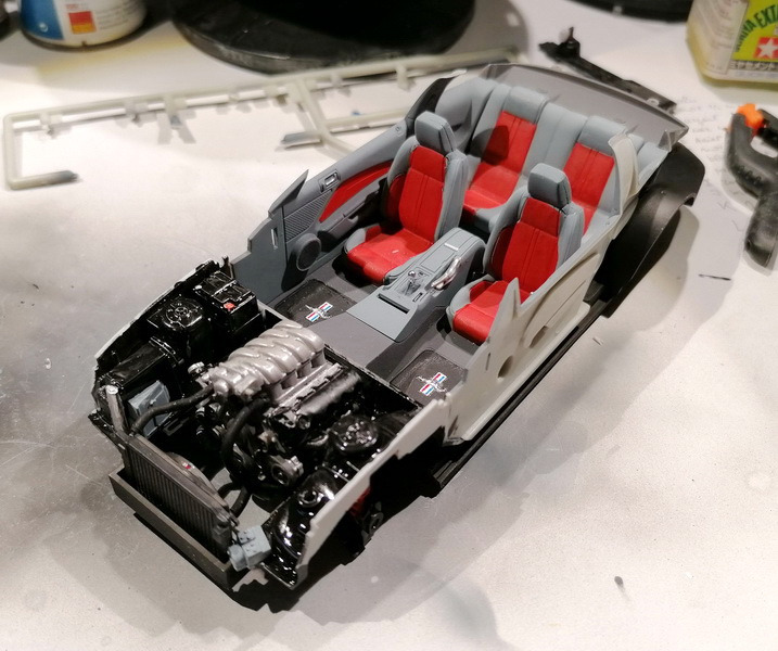Ford Mustang GT  - 1/25 -  Revell Img_2240