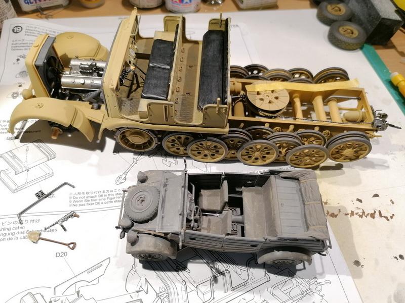 Camion Famo + remorque porte-chars  - 1/35 -  Tamiya - Page 2 Img_2276