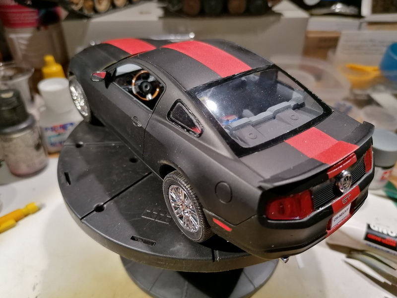 Ford Mustang GT  - 1/25 -  Revell - Page 3 Img_2285