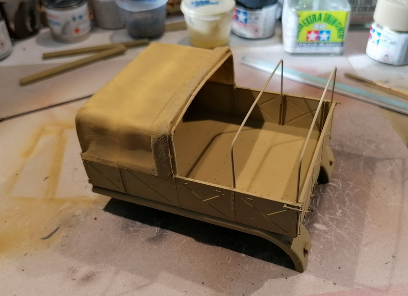 Camion Famo + remorque porte-chars  - 1/35 -  Tamiya - Page 6 Img_2330