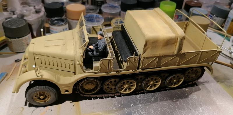 Camion Famo + remorque porte-chars  - 1/35 -  Tamiya - Page 6 Img_2331