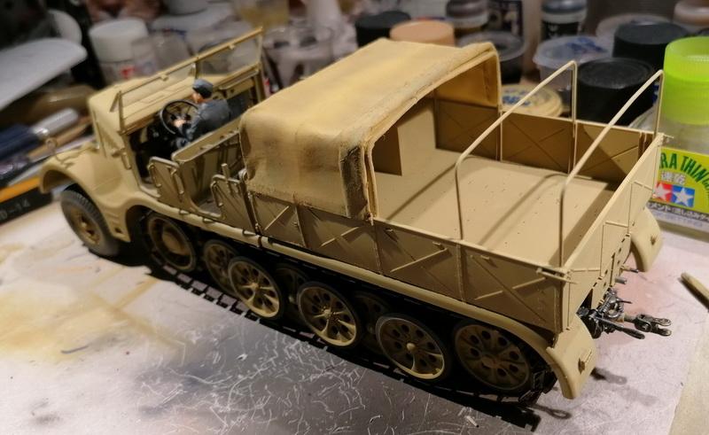 Camion Famo + remorque porte-chars  - 1/35 -  Tamiya - Page 6 Img_2332