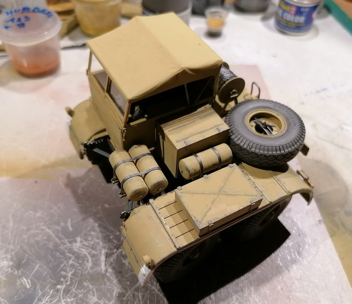 Camion Famo + remorque porte-chars  - 1/35 -  Tamiya - Page 7 Img_2338