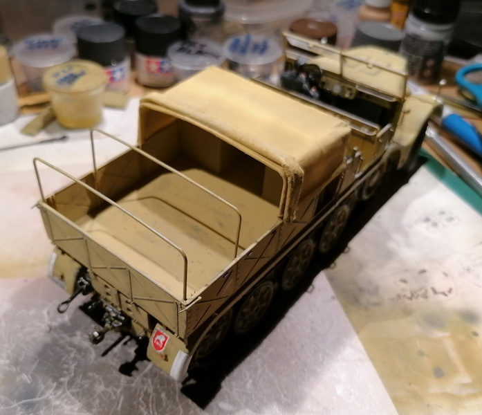 Camion Famo + remorque porte-chars  - 1/35 -  Tamiya - Page 7 Img_2340