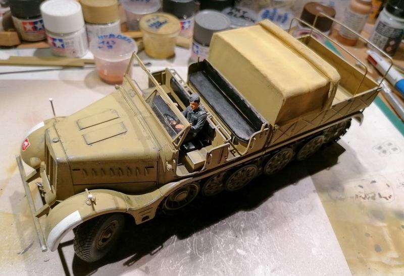 Camion Famo + remorque porte-chars  - 1/35 -  Tamiya - Page 7 Img_2342