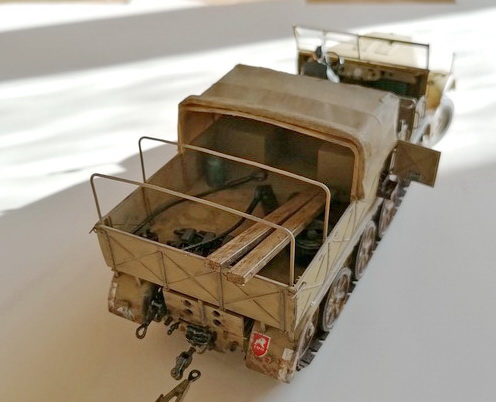 Camion Famo + remorque porte-chars  - 1/35 -  Tamiya - Page 7 Img_2358